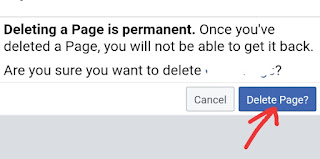 Facebook Page kaise Delete kare