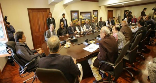 PM Imran Calls Core Committee Meeting Today