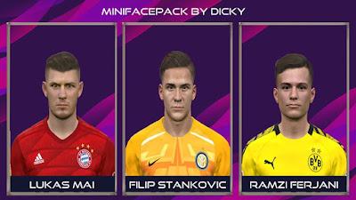 PES 2017 Facepack V1 by Dicky