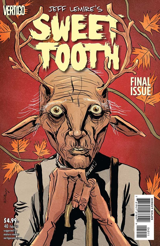 Cover of Sweet Tooth #40