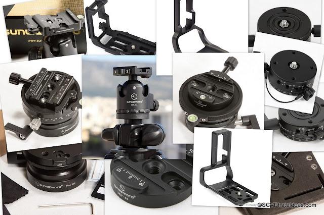 Sunwayfoto Products Collage II