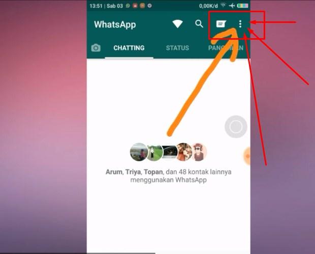 Cara Sembunyikan Status Sedang Mengetik Whatsapp LANGKAH KEDUA Terbaru 2019