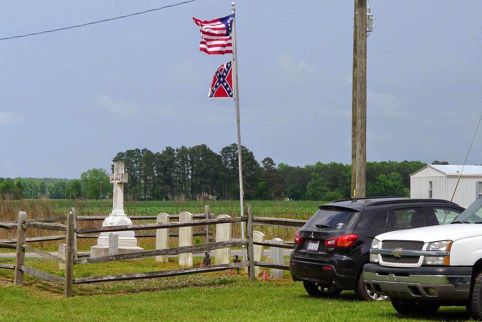 North Carolina Militia Flag