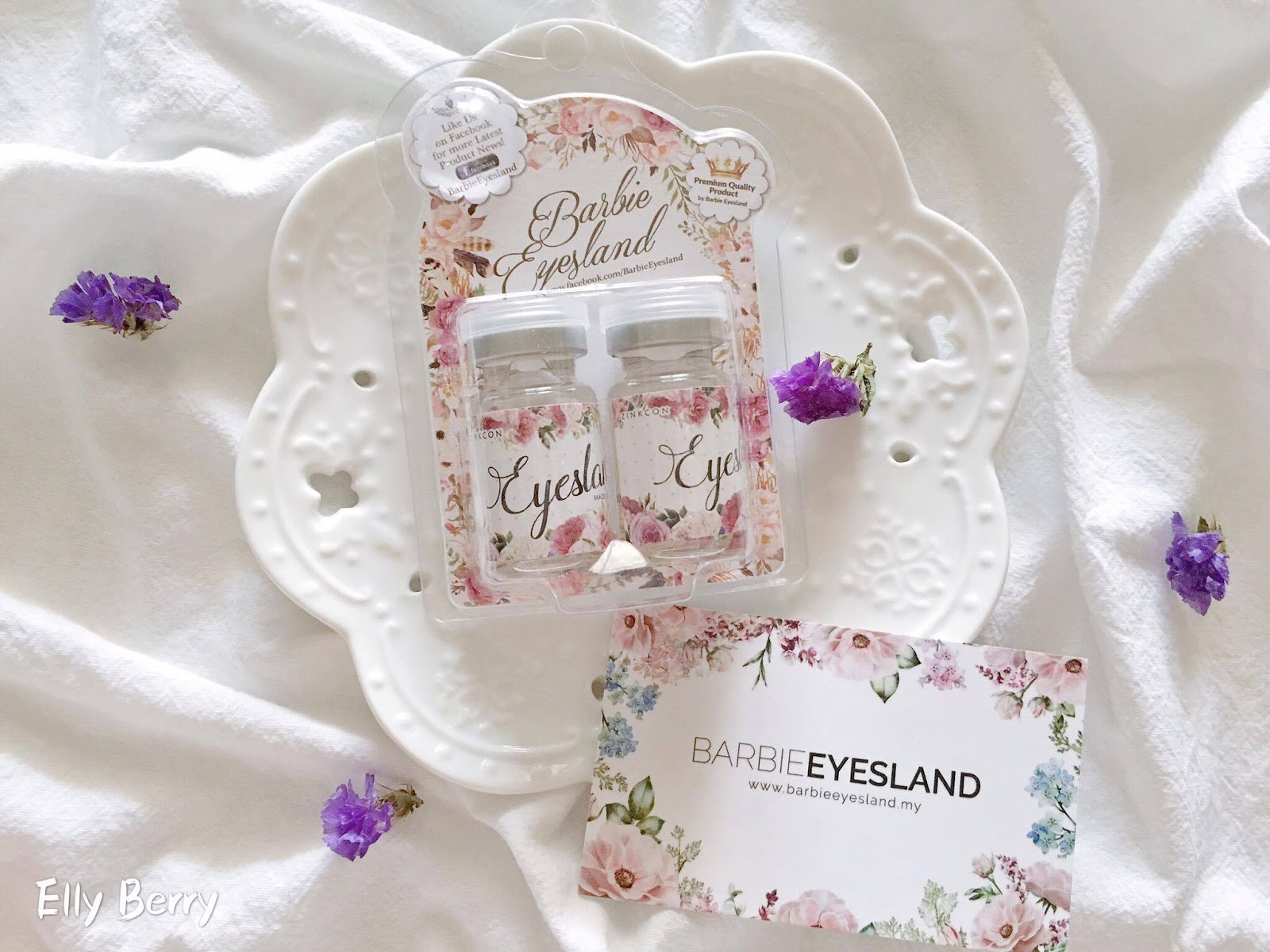 Review ] Barbie Eyesland Contact Lenses