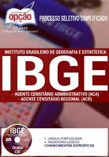 Apostila concurso IBGE cargo censeador2016.