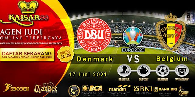 Prediksi Bola Terpercaya Laga EURO Denmark vs Belgium 17 Juni 2021