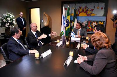 Embaixador de Israel no Brasil é homenageado na Assembleia do Rio Grande do Norte