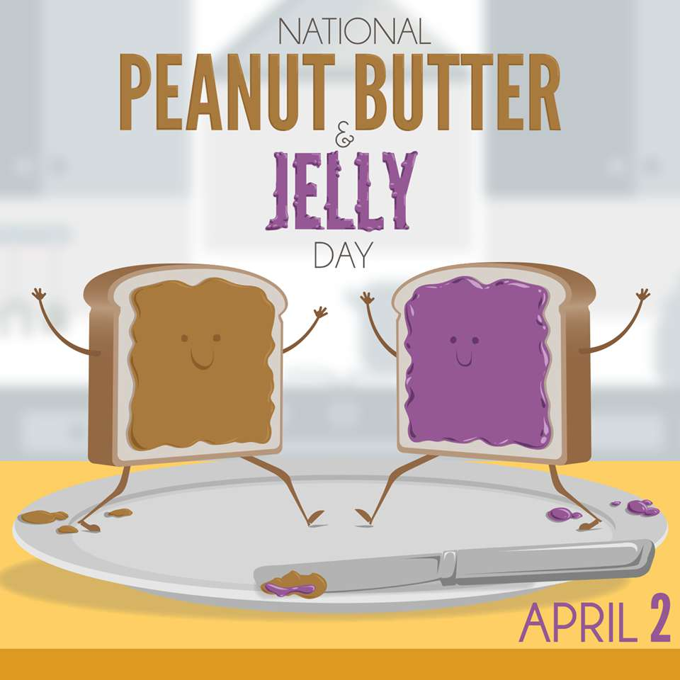 National Peanut Butter and Jelly Day Wishes Lovely Pics
