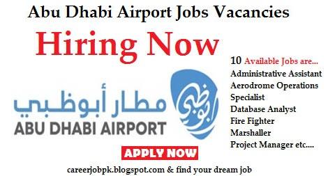 Abu Dhabi Airport jobs vacancies 2016