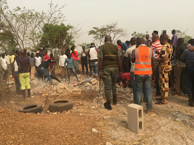 humans buried alive enugu church building