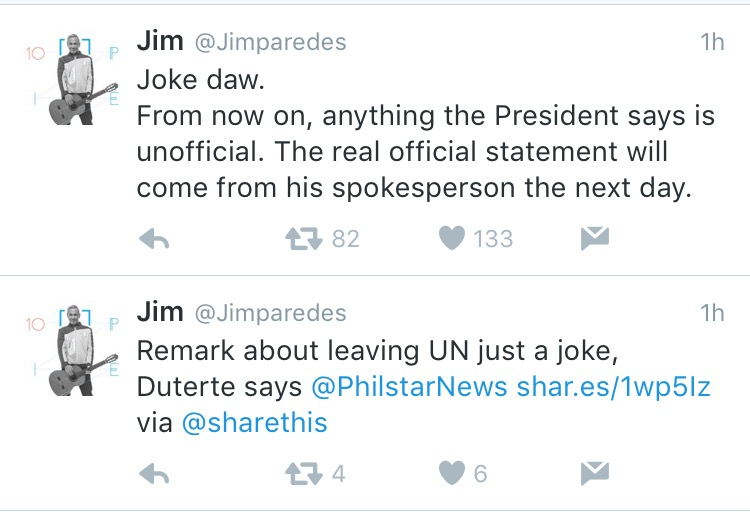 Jim Paredes Reacts On His Viral Video: Fashion PULIS: Tweet Scoop: Jim Paredes Reacts To