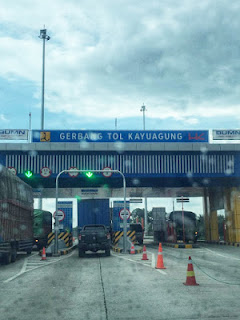 Tol Kayuagung di Sumatra Selatan