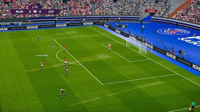 PES 2020 Parc des Princes Stadium For PC