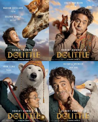 DoLittle official character posters [New Look]
