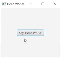 JavaFX - Pencere Oluşturma ve Buton Ekleme