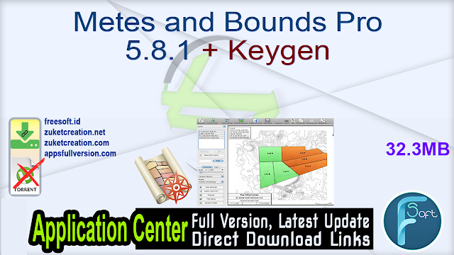 Metes and Bounds Pro 5.8.1 + Keygen