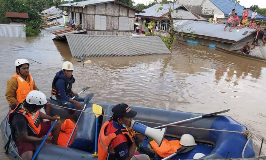 Rescue operations in Isabela