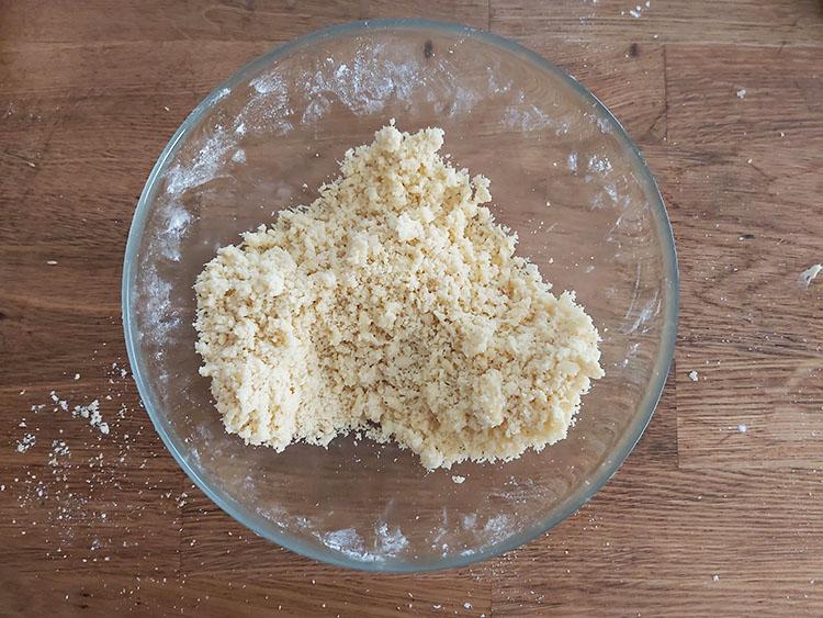 Sablage pâte sablée