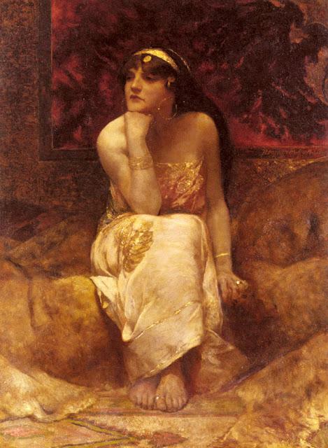 Hérédiade par Benjamin Jean Joseph Constant (1845-1902)