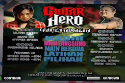 Guitar Hero Chart Indonesia 2020 PS2 ISO