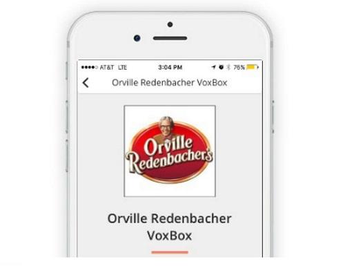 Influenster Orville Redenbacher VoxBox