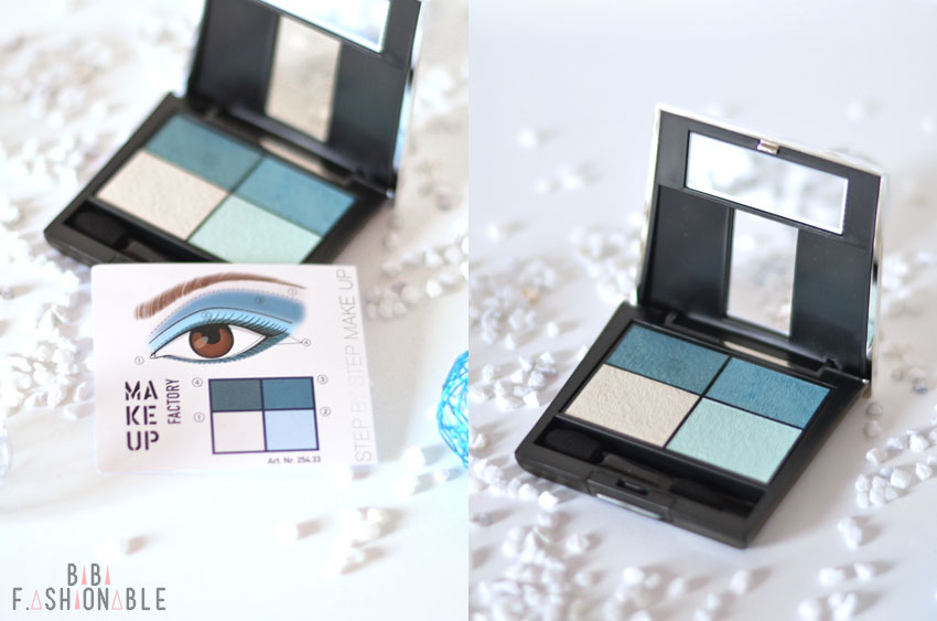 Make Up Factory Elements of the Ocean Lidschatten Quattro türkis