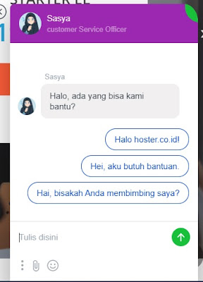 live chat hoster.co.id