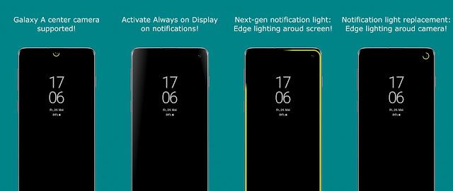 تحميل تطبيق اضاءة حواف الشاشة