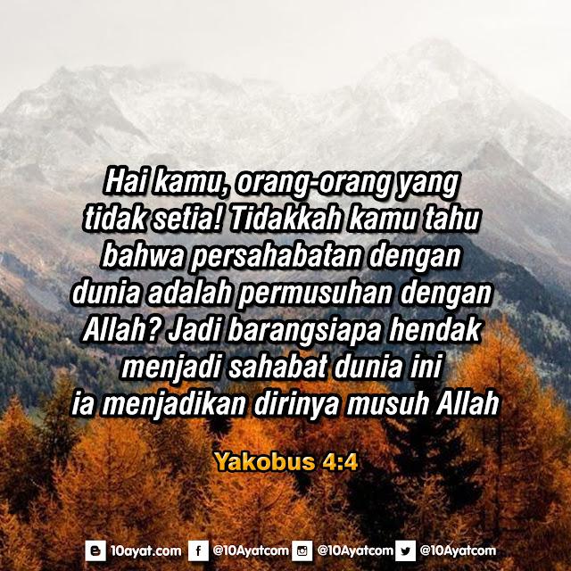 Yakobus 4:4