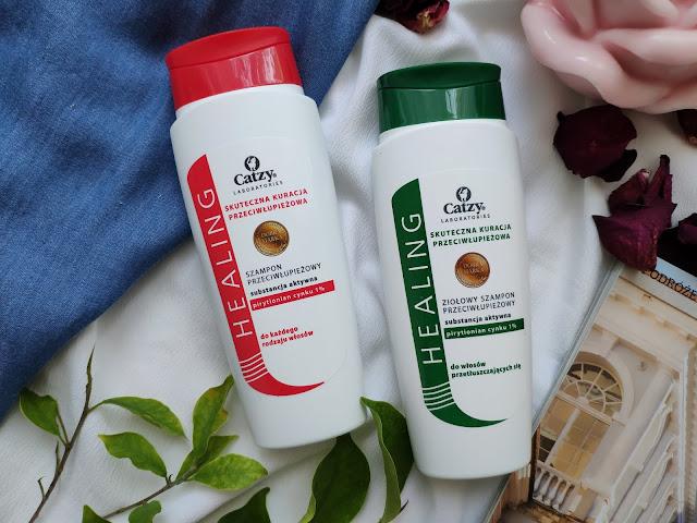 Catzy - Przeciwłupieżowe szampony do pielęgnacji skóry głowy i włosów