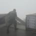 Forte ventania atinge o Rio de Janeiro; assista
