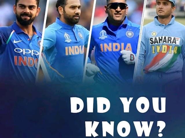 DID YOU KNOW?  भारतीय क्रिकेटरों के निकनेम