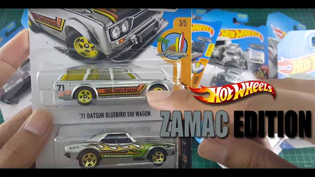 Hot Wheels Zamac Edition