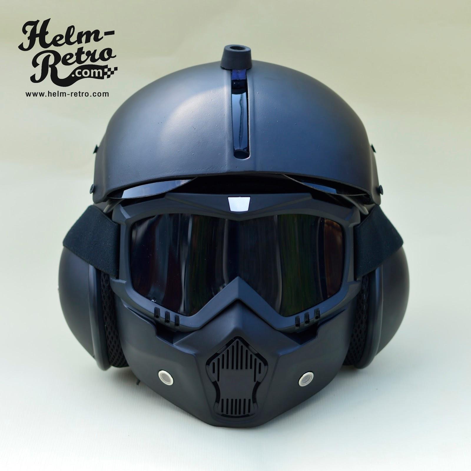 Helm Retro  Helm Retro Pilot  Helm Retro Bogo