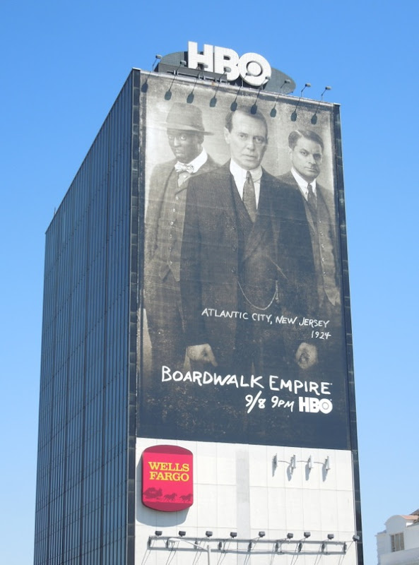 Giant Boardwalk Empire season 4 billboard