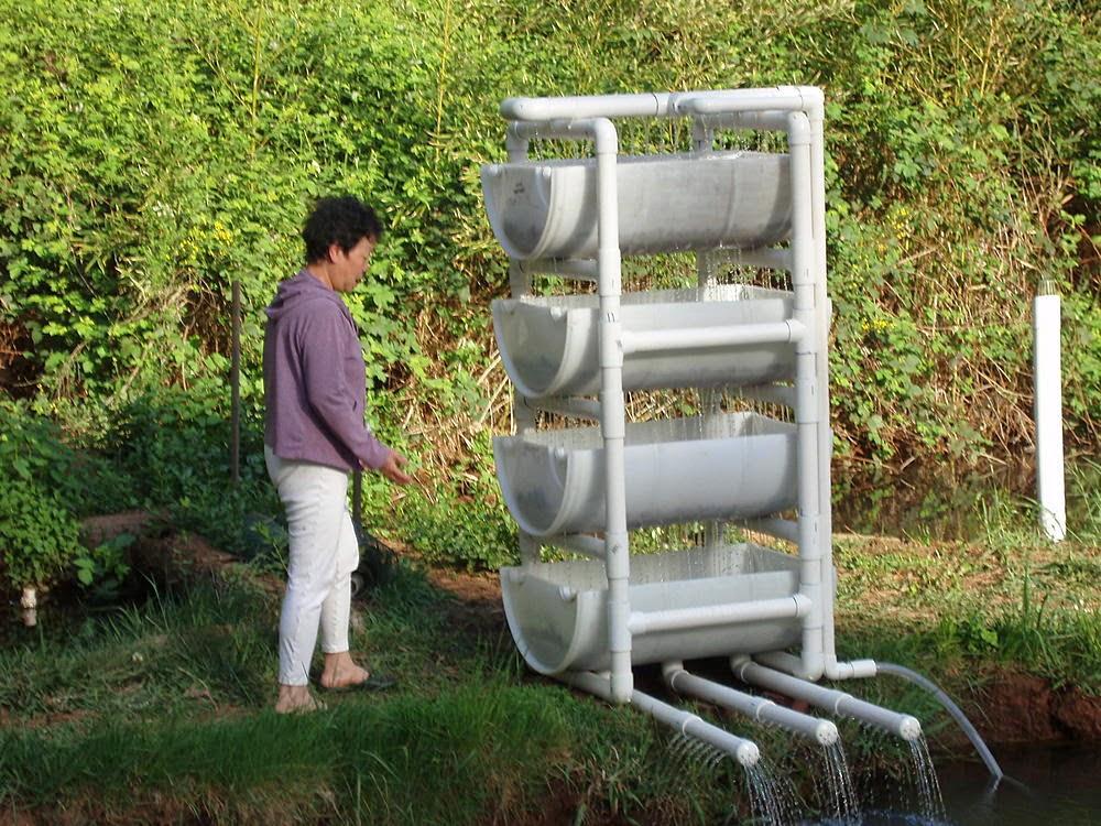 Bakki Shower Untuk Filter Kolam Ikan