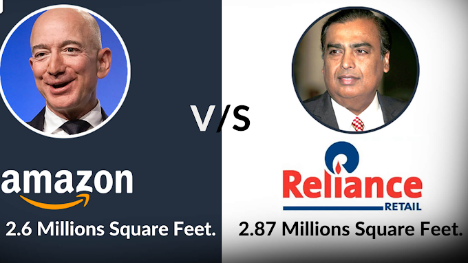 Reliance want to Compete with Amazon.