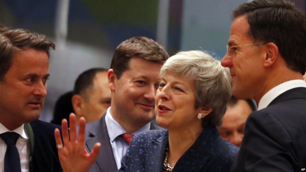 La primer ministra británico, Theresa May / AP