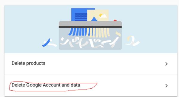 حذف حساب جوجل من الجهاز