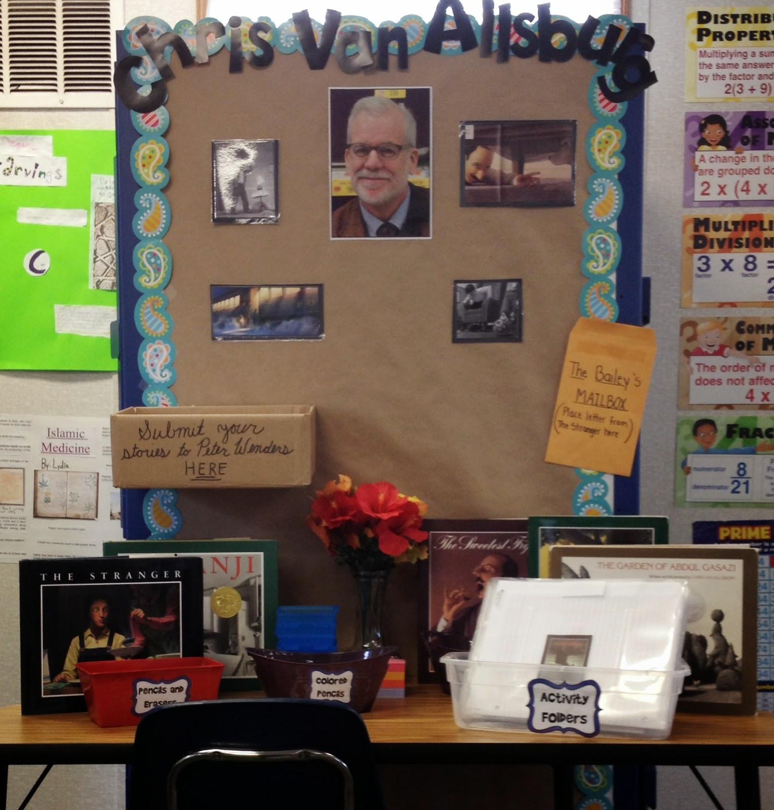 In 5th Grade With Teacher Julia Chris Van Allsburg