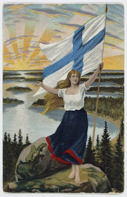 Suomi Neito the Maiden of Finland