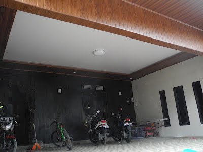 Pemasangan Plafon Pvc Shunda di Rumah Bapak Suwardi