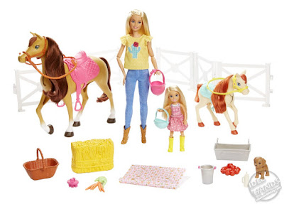 Toy Fair 2019 Mattel Barbie Hugs 'n Horses 19