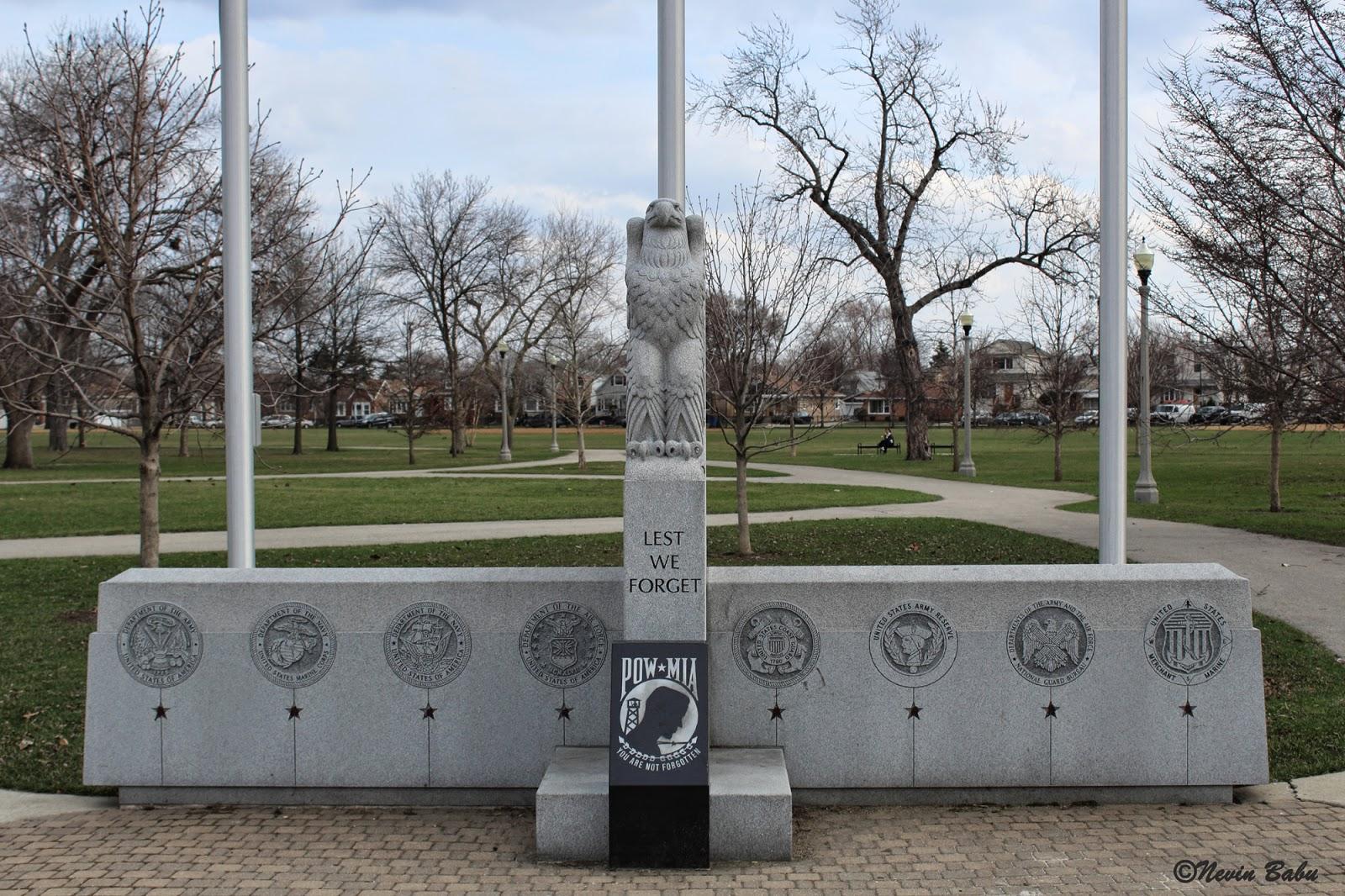 Veterans Memorial Merrimac Park