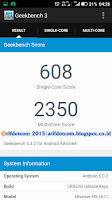 Test benchmark geekbench
