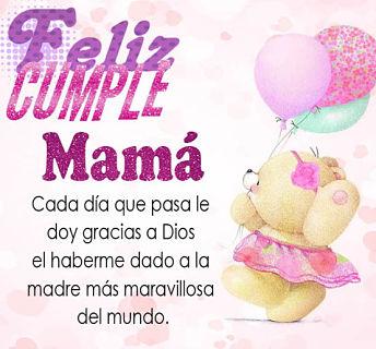 Mensajes de Cumpleaños para Mamá