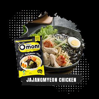 Omoni-Jjajangmyeon-Chicken