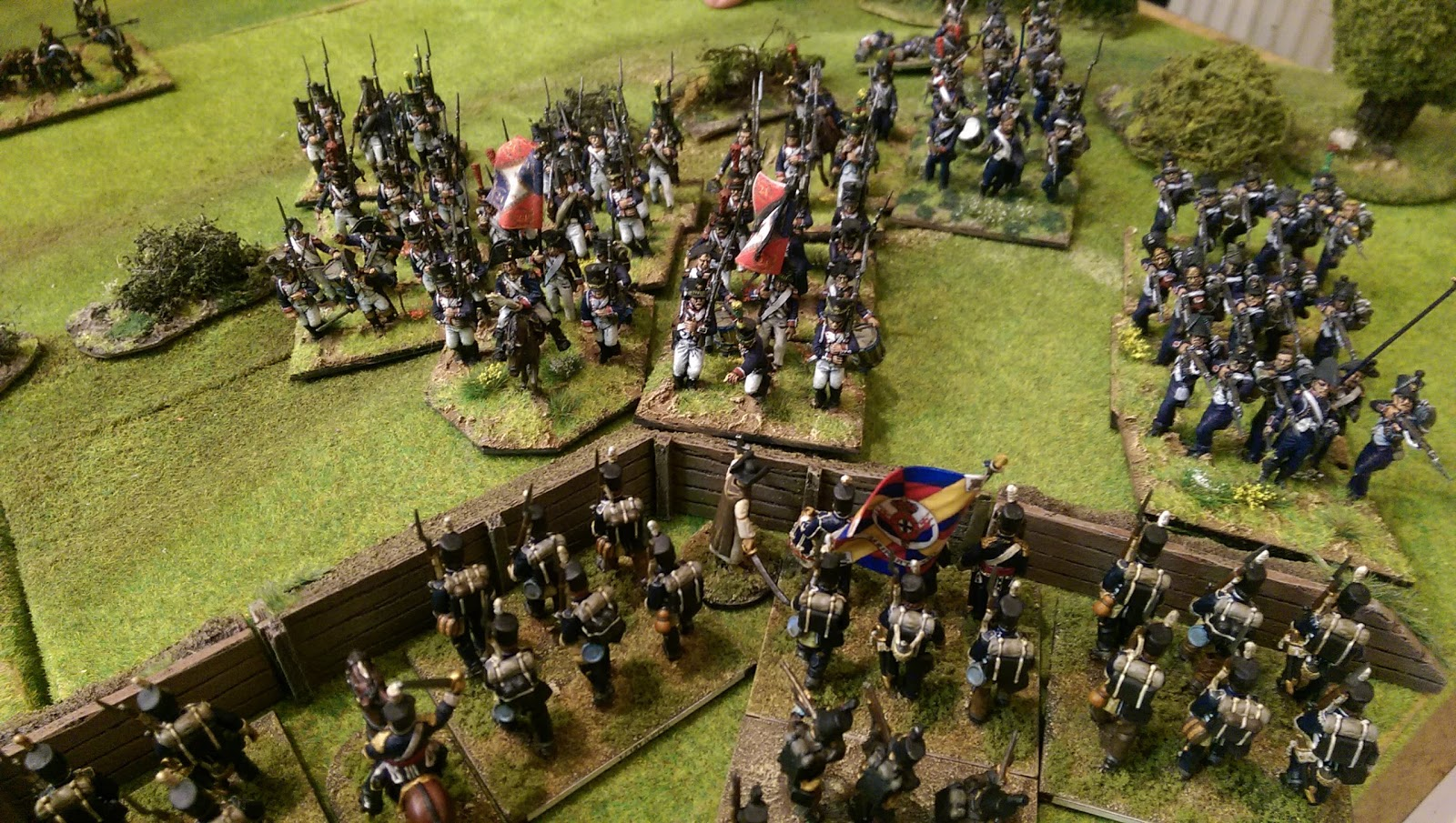 "French assault! ""Deus nos preservará"""