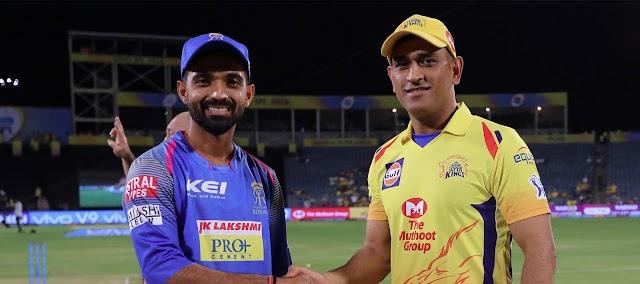 Chennai Super Kings Vs Rajasthan Royals Match No 5