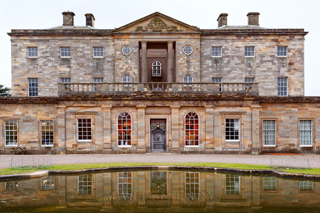 Howick Hall in Northumberland reflection by Martyn Ferry Photography